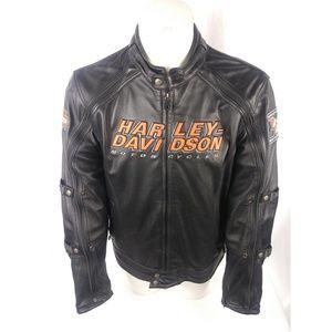 Harley Davidson Mens leather jacket Switchback Ful